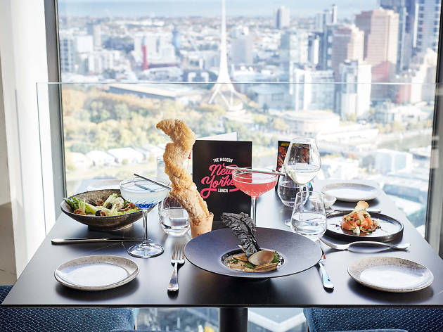 Sofitel Melbourne Modern New Yorker Lunch
