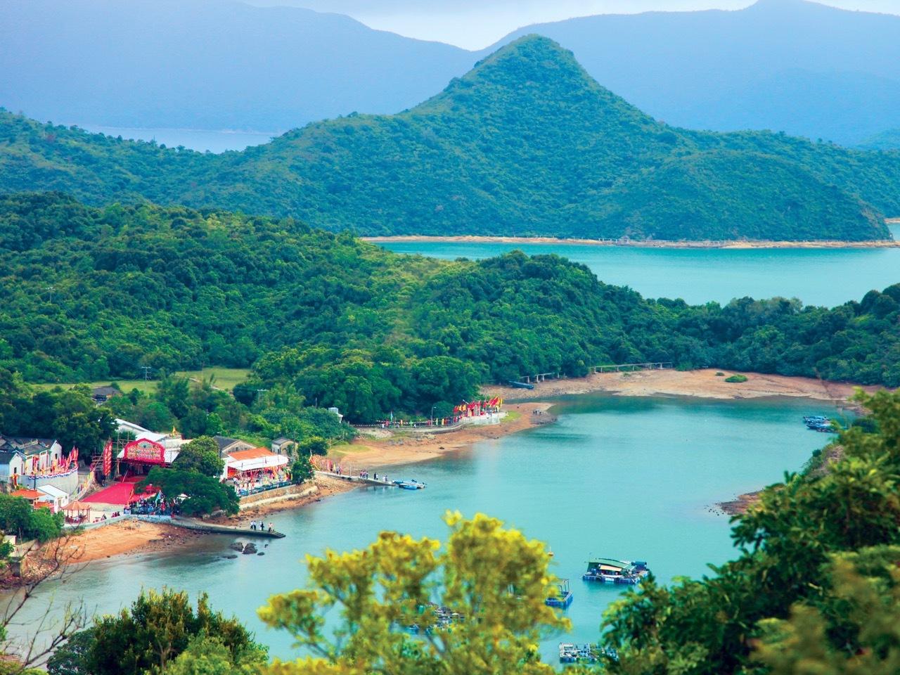 Kat O Island in Hong Kong