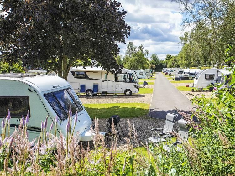 Swiss Farm Camping, Oxfordshire