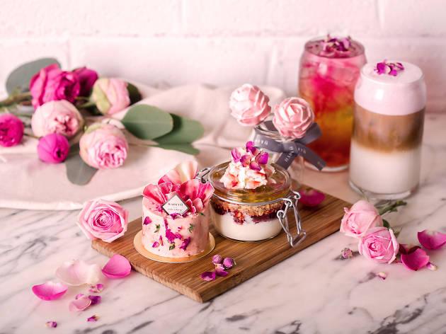Habitu Table︰浪漫玫瑰