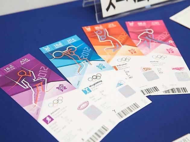 2012年ロンドン大会のチケット