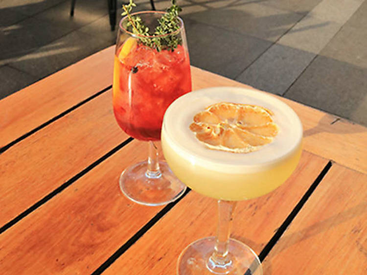 Have a May Gibbs-themed cocktail at Quay Bar