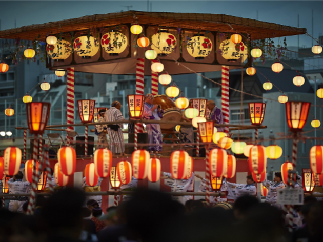 Tsukiji Hongan-ji Temple Noryo Bon Odori Taikai