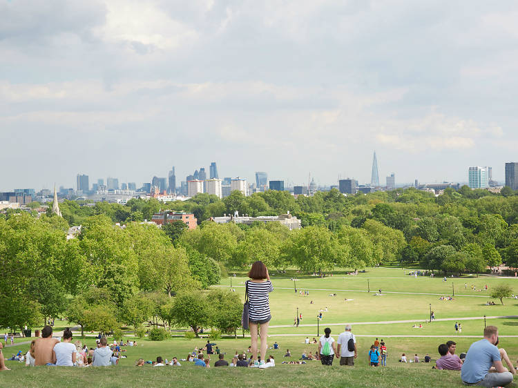 Admire the view from Primrose Hill