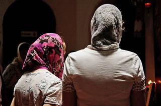 Mujeres de la Iglesia Ortodoxa Rusa en México