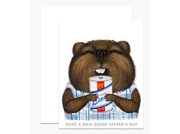Father's Day Beaver