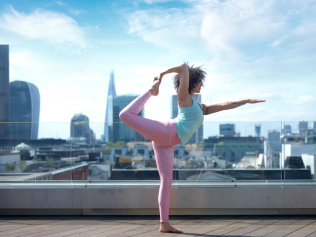 10 rooftop yoga classes in London