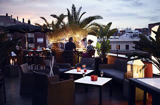Terrassa hotel Villa Emilia