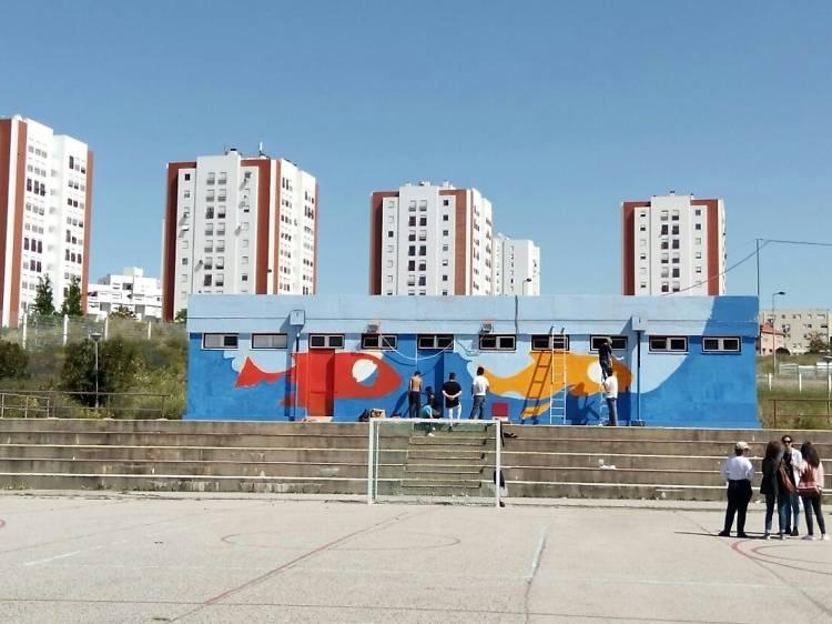 Um roteiro de arte urbana em Marvila