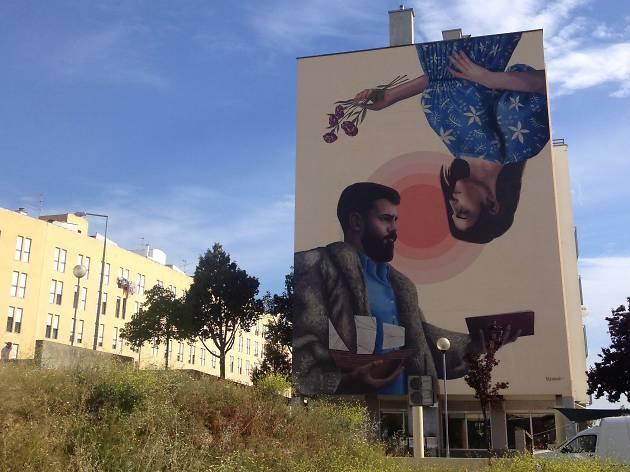 Arte urbana Marvila Licuado