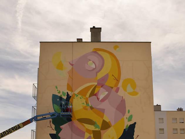 Arte urbana Marvila Godmess