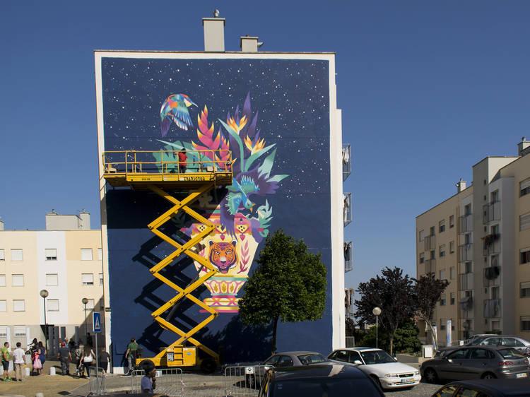 Arte urbana Marvila Kruella d'Enfer
