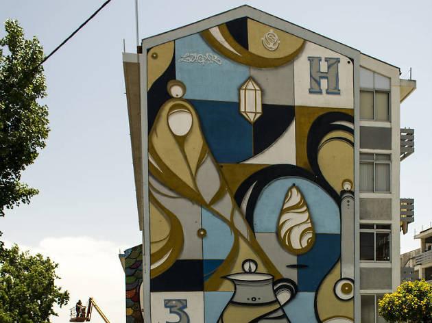 Arte urbana em Marvila Hazel