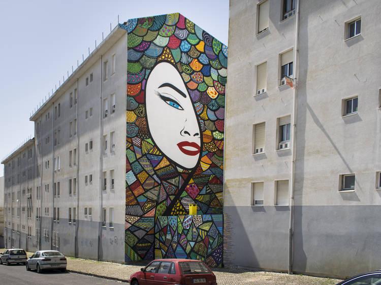 Arte urbana em Marvila LS