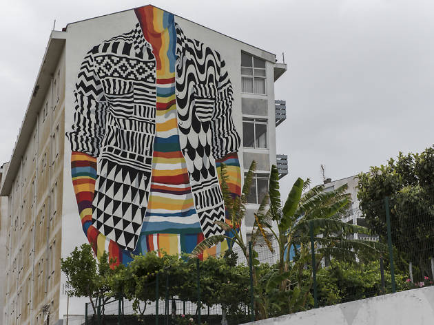 Arte urbana em Marvila