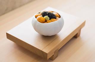 Sushiyoshi - Caviar d'Aquitaine uni rice