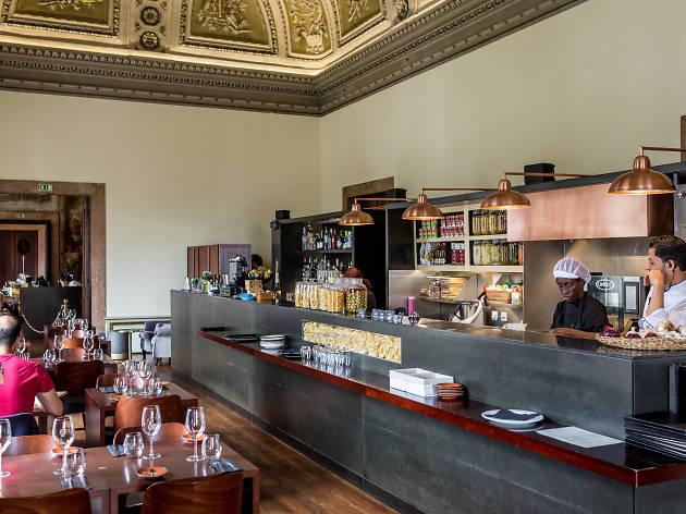 Restaurante, Rosmarino, Cozinha Italiana, Palácio Chiado