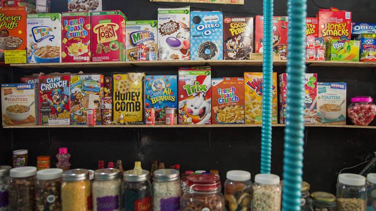 Crispy Cereal Bar en la CDMX