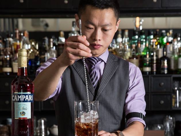Week 16: Frank Hu from Manhattan Bar