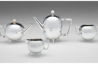 (Christopher Dresser (designer); Hukin & Heath (manufacturer) 'Tea service' 1879)