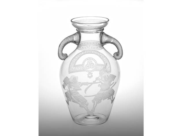 (Thomas Webb & Sons (manufacturer) Vase c. 1880)