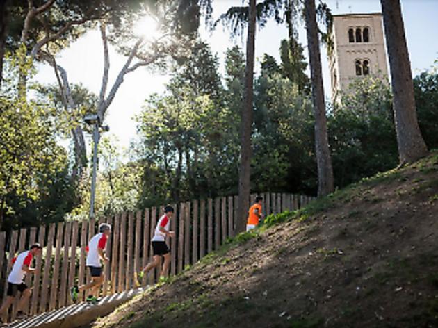 Running per Montjuïc