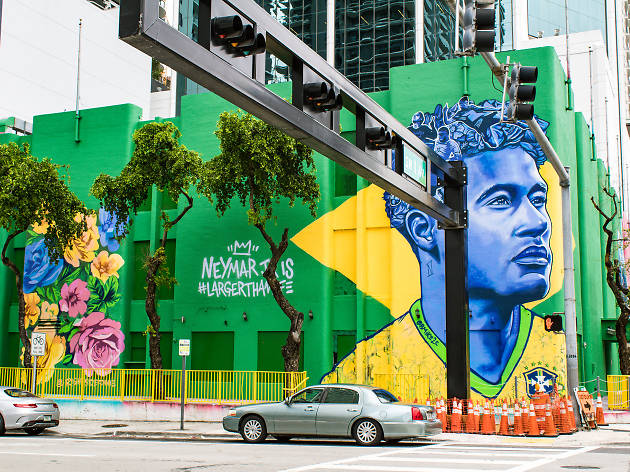 The U.S. didn't make it to the World Cup—but at least we have this Brickell mural?