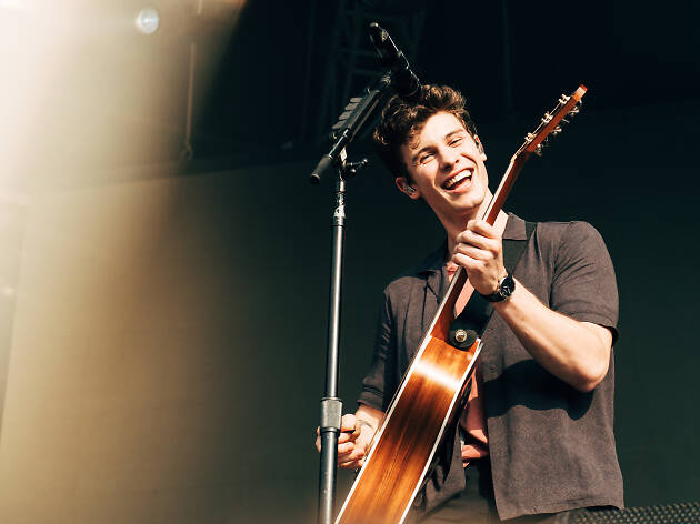 Shawn Mendes at Governors Ball .