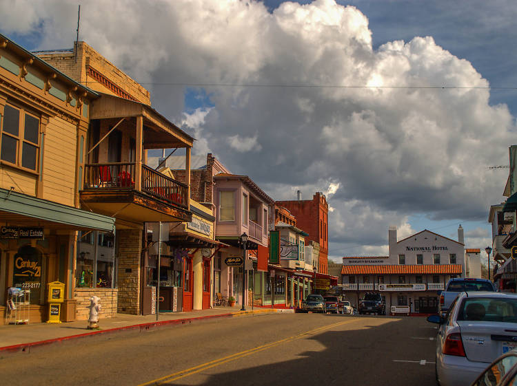 Gold Rush towns