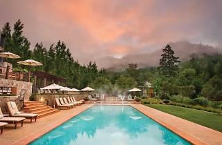 Pool at Calistoga Ranch