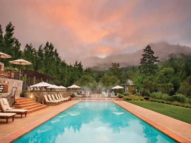 Pool At Calistoga Ranch