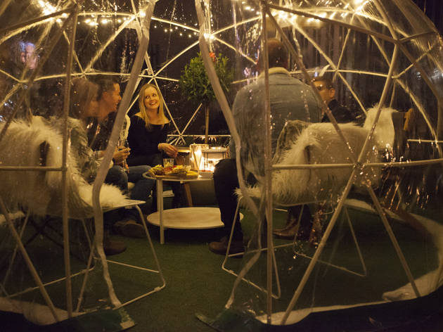 AH Winter Igloo Garden (Photograph: Leslie Haworth)