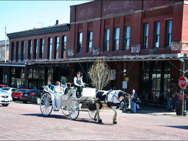 Old Market Historic District in omaha