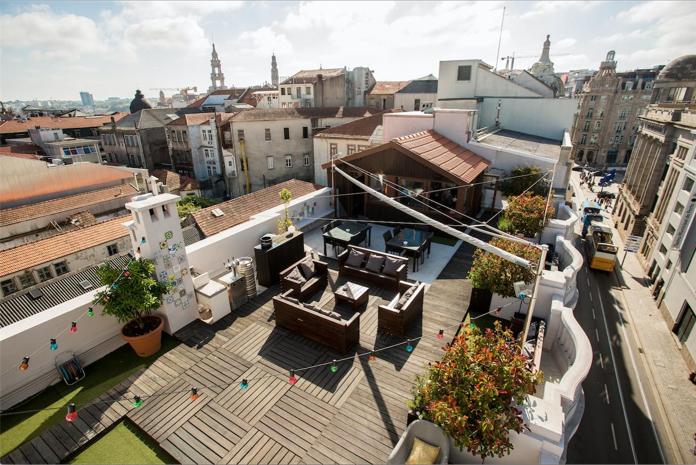 Os melhores terraços no Porto