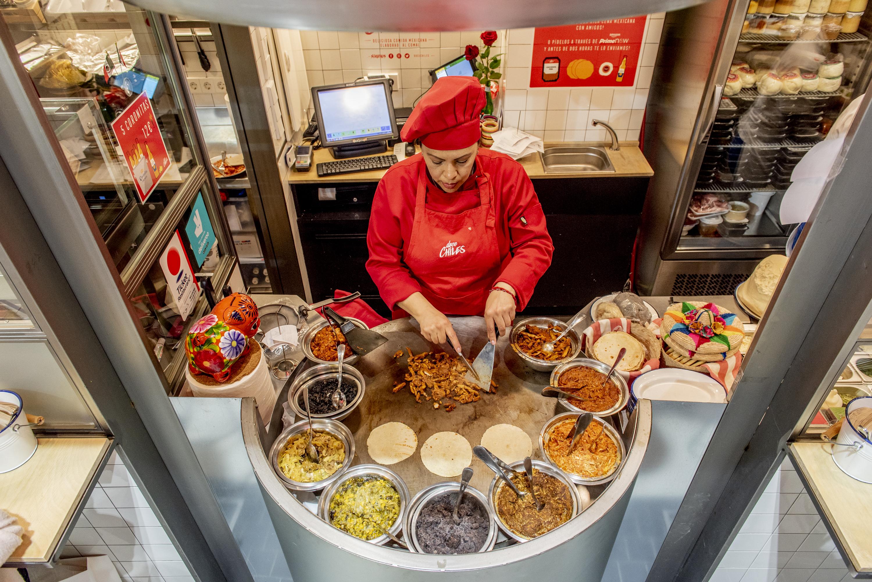 Comer en los mejores puestos de mercado