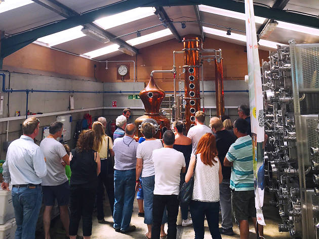 Silent Pool Distillers, distillery tours near london
