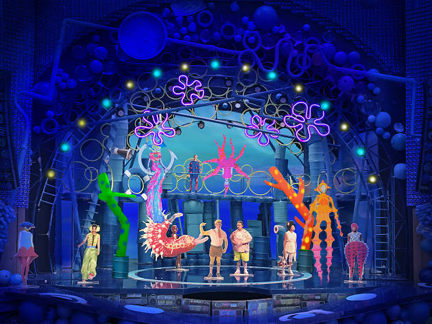 Tony-nominated designer David Zinn walks us through the mind-blowing set and costumes for SpongeBob SquarePants