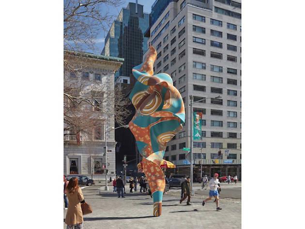 Yinka Shonibare, Wind Sculpture (SG) I, 2018