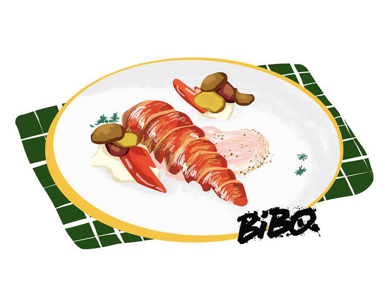 週五晚上七時︰到 Bibo 享用晚飯