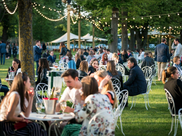 Petit Pré : le premier Food Garden de Paris à l'hippodrome Longchamp !