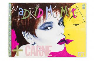 Portada de la revista Madrid Me Mata Oscar Mariné, Juan Antonio Moreno, Teresa Yagüe  . 1984 - 1986