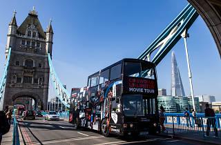 Cineworld movie bus tour