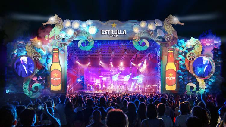 Escenari Estrella Damm del Festival Cruïlla 2018