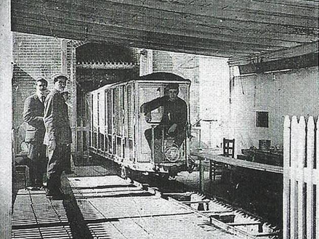 Vagón de la Mina Grott