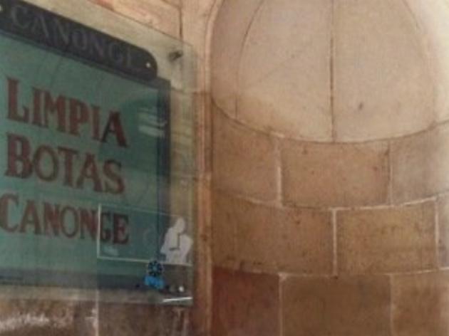 Placa dedicada a Fructuós Canonge
