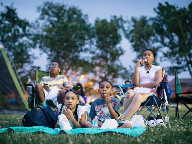 Where to see outdoor movies in Chicago this summer