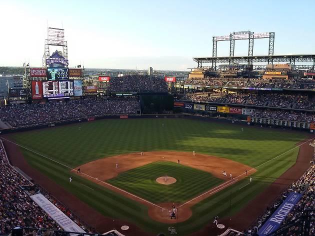 Colorado baseball field