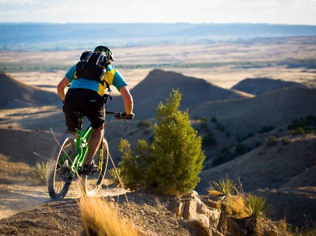 Mountain biking in Fruita