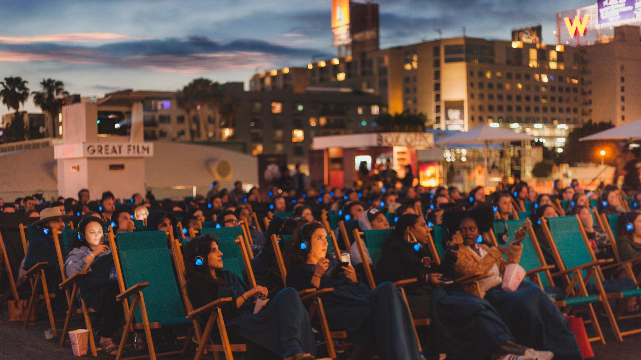 Rooftop Cinema Club's summer schedule