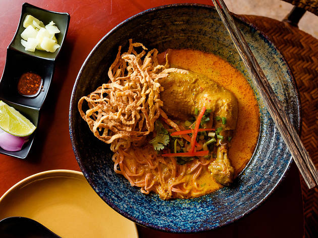 Eats Payao, Northern food, Khao Soi